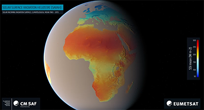 African Surface Solar Radiation Climatology