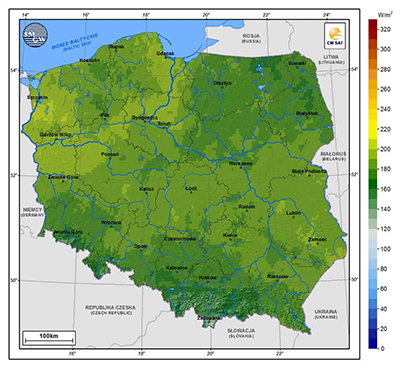 Solar Atlas Poland