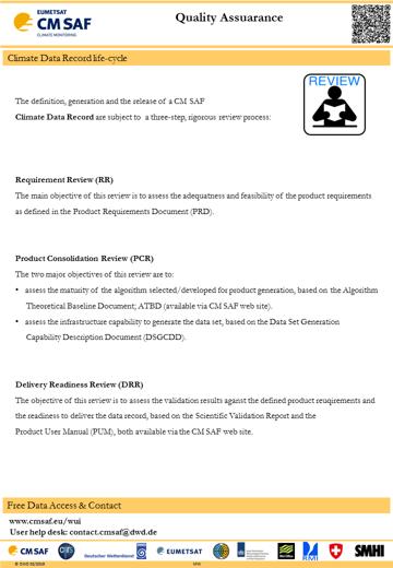 CMSAF - Product Description