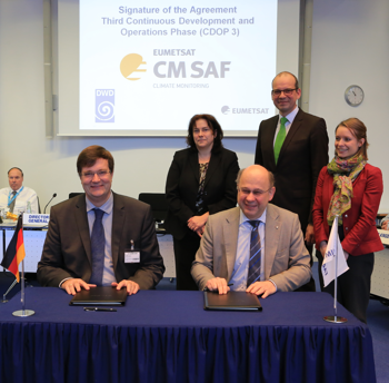 CDOP3_Signature (refer to: EUMETSAT Council approves next five year phase of the CM SAF)