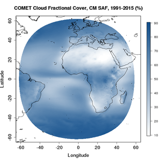 CFC (refer to: e are pleased to announce the release of the new CM SAF cloud fraction climate data record COMET:)