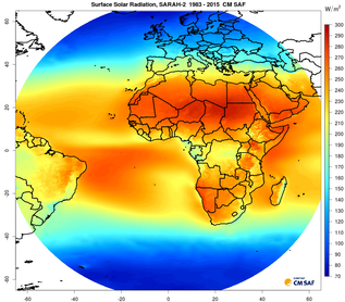 SARAH-2_SIS_mean_Global (refer to: Updated CM SAF Surface Solar Radiation Climate Data Record available)