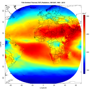 TET (refer to: New Climate Data Record available: 32-years of top of atmosphere radiation parameters from Meteosat MVIRI and SEVIRI)