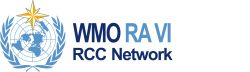 RCC Logo (refer to: WMO Regional Climate Centre for Europe and Middle East uses CM SAF data on a routine basis)
